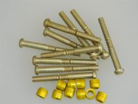 "10 x 1/4"" Pin Rivets Dome Head With Rivnuts Length 2 5/16"" [AE8]"